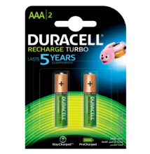 Duracell duralock recharge ultra 900 mah - aaa - 2db / cs