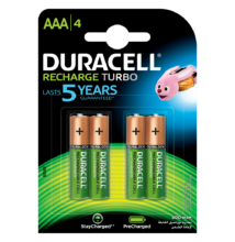 Duracell duralock recharge ultra 900 mah - aaa - 4db / cs