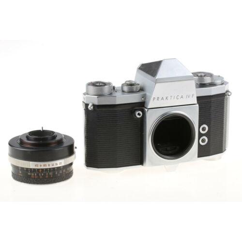 PRAKTICA IV F analóg fényképezőgép (objektív nélkül)