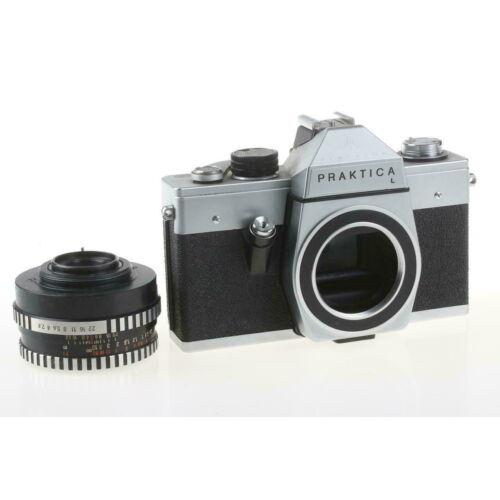 PRAKTICA L analóg fényképezőgép (objektív nélkül)