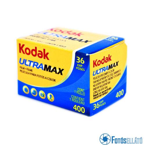 Kodak ultra max 400 135-36 színes negatív film