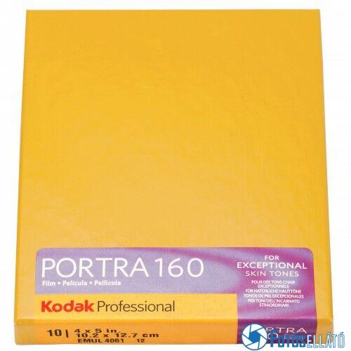 """Kodak Portra 160 4x5""""/10 lap professzionális síkfilm"""