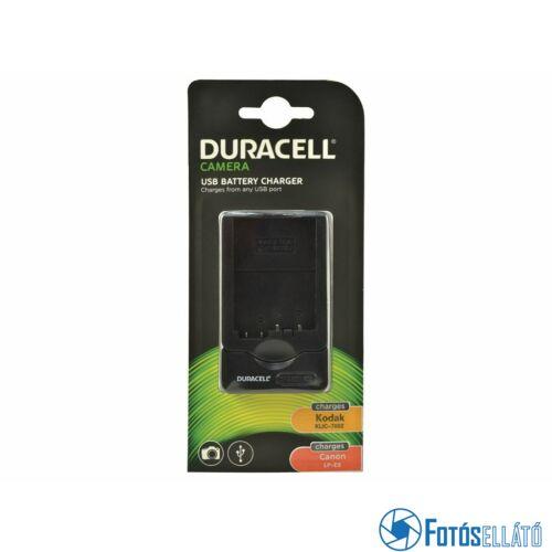 Duracell Canon lp-e8 / kodak klic-7002 li-ion akkumulátortöltő utángyártott (usb-s)