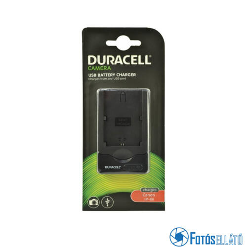 Duracell Canon lp-e6 li-ion akkumulátortöltő utángyártott (usb-s)