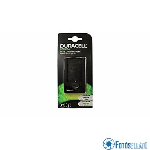 Duracell Fujifilm np-60 / pentax d-li12 li-ion akkumulátortöltő utángyártott (usb-s)