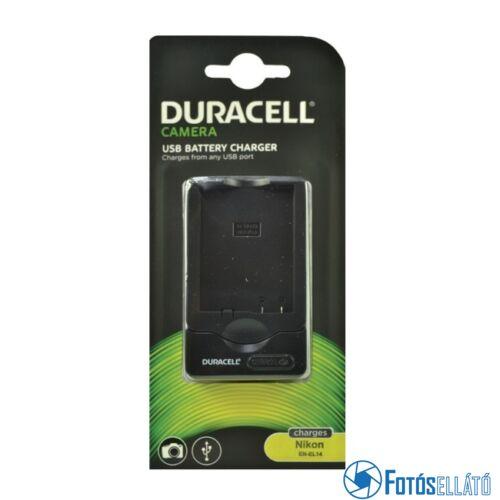 Duracell Nikon en-el14 li-ion akkumulátortöltő utángyártott (usb-s)