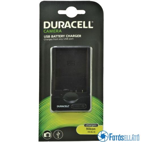 Duracell Nikon en-el15 li-ion akkumulátortöltő utángyártott (usb-s)