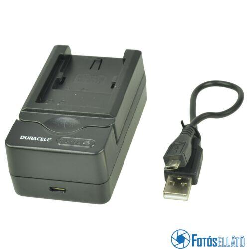 Duracell Nikon en-el8 / kodak klic-7000 li-ion akkumulátortöltő utángyártott (usb-s)