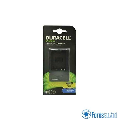Duracell Nikon en-el23 / panasonic dmw-blh7 li-ion akkumulátortöltő utángyártott (usb-s)