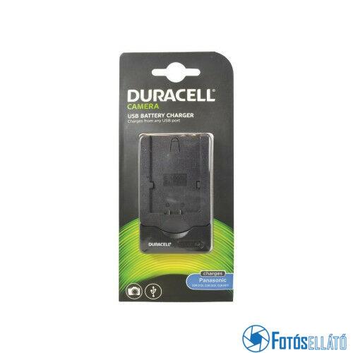 Duracell Panasonic cgr-d120 / d220 / d815 li-ion akkumulátortöltő utángyártott (usb-s)