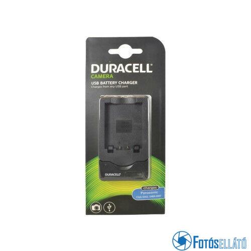 Duracell Panasonic cga-s002 / dmw-bm7 li-ion akkumulátortöltő utángyártott (usb-s)