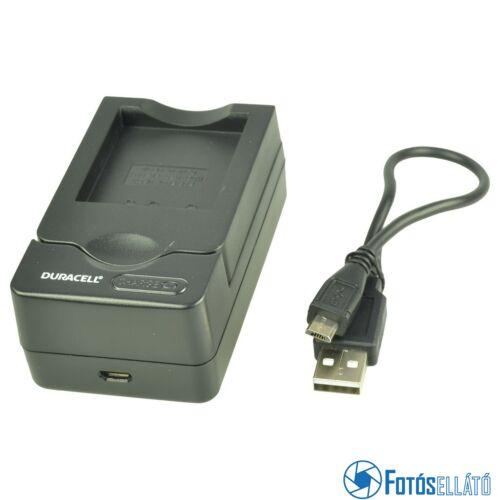 Duracell Panasonic dmw-bcj13 / dmw-bch7e li-ion akkumulátortöltő utángyártott (usb-s)