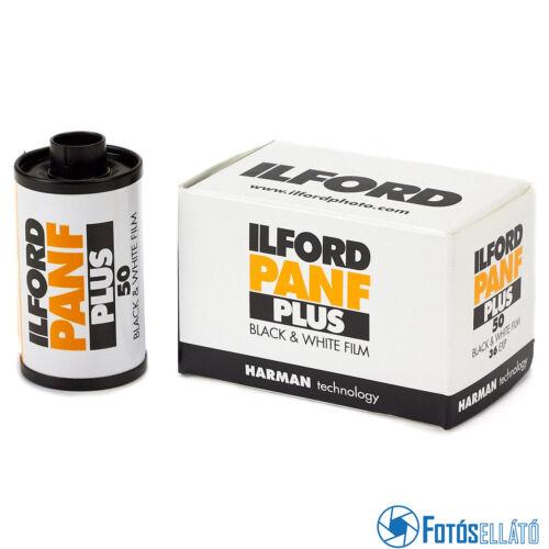 Ilford PAN F Plus 135-36,  fekete-fehér negatív film, 135 (35 mm), ISO 50, 36 kocka