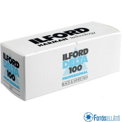 Ilford Delta 100 120 fekete-fehér negatív rollfilm