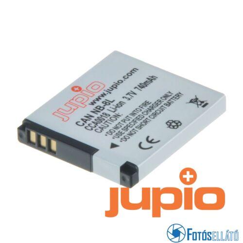 Jupio fényképezőgép akkumulátor canon nb-8l 740 mah