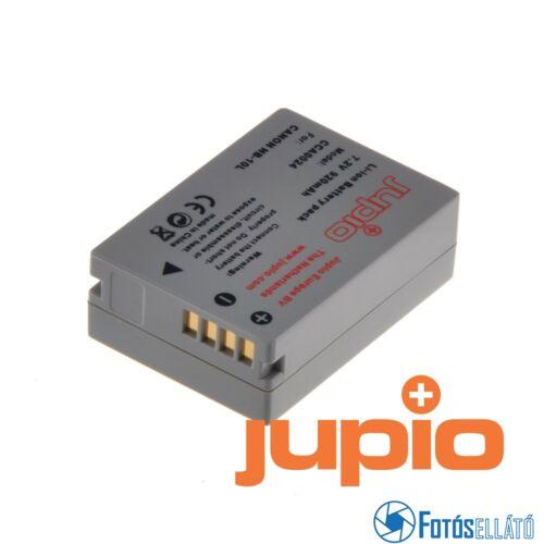 Jupio fényképezőgép akkumulátor canon nb-10l 920 mah
