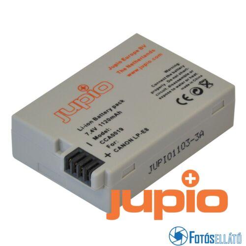 Jupio fényképezőgép akkumulátor canon lp-e8 1120 mah