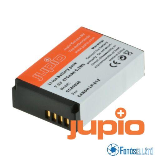 Jupio fényképezőgép akkumulátor canon lp-e12 875 mah