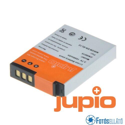Jupio fényképezőgép akkumulátor nikon en-el12 1050 mah