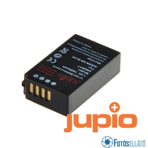 Jupio fényképezőgép akkumulátor nikon en-el20 1020 mah