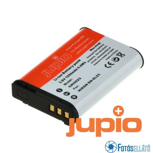 Jupio fényképezőgép akkumulátor nikon en-el23 1550 mah