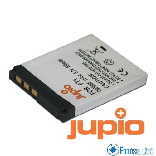 Jupio fényképezőgép akkumulátor sony np-ft1 650 mah