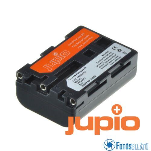 Jupio fényképezőgép akkumulátor sony np-fm50/51 / np-qm50/51 1400 mah