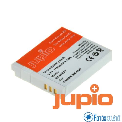 Jupio fényképezőgép akkumulátor canon nb-6lh 1100 mah