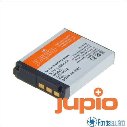 Jupio fényképezőgép akkumulátor sony np-fr1 1200 mah