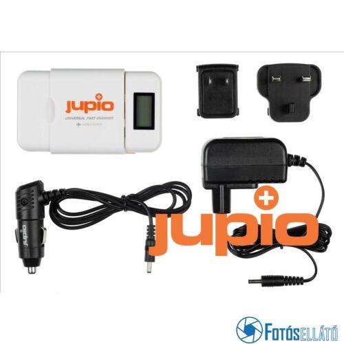 Jupio akkumulátor töltő univerzális li-ion + aa + usb gyorstöltő (world edition)