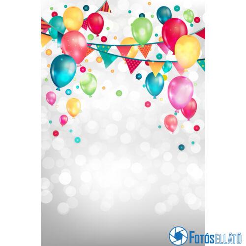 Mintás fotóháttér (születésnapra) - 180x120cm