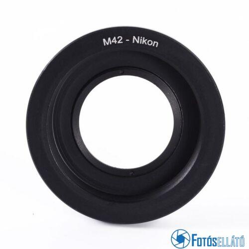 OptiBEST M42 Nikon adapter üvegtaggal (M42-AI)