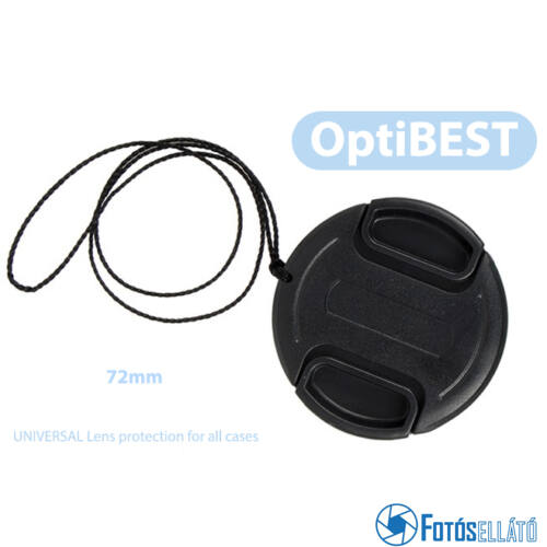 OptiBEST Objektív védő első sapka (72mm)