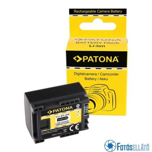 Patona AKKUMULÁTOR CANON BP819 BP827 BP808 BP809 HF100 HG-20 WIRELESS