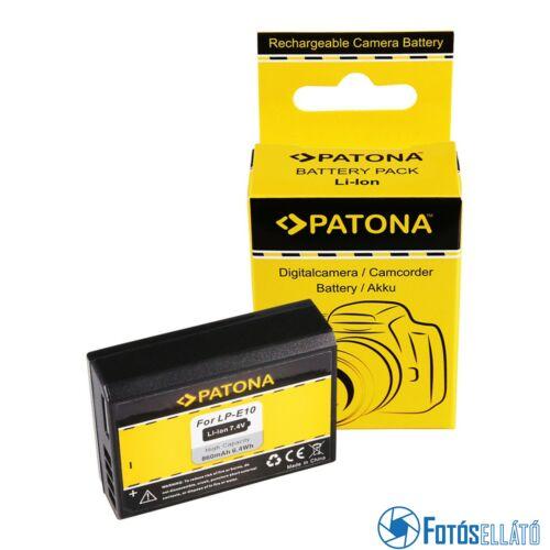 Patona AKKUMULÁTOR CANON LP-E10 LPE10 EOS1100D EOS 1100D