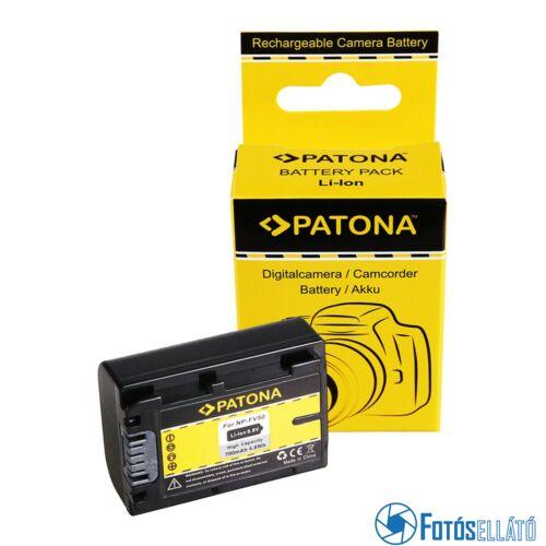 Patona AKKUMULÁTOR SONY HDR-CX110 HDR-CX170 NP-FV30 NP-FV50 NP-FV100
