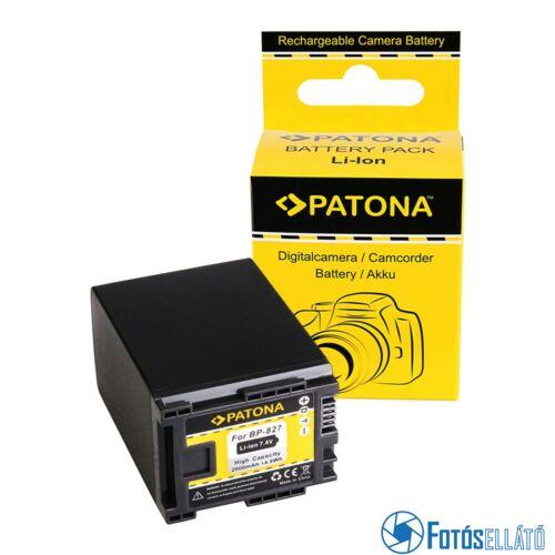 Patona AKKUMULÁTOR CANON BP-827 FS10 FS100 FS11 FS200 FS21 FS21 FS22 IVIS FS10