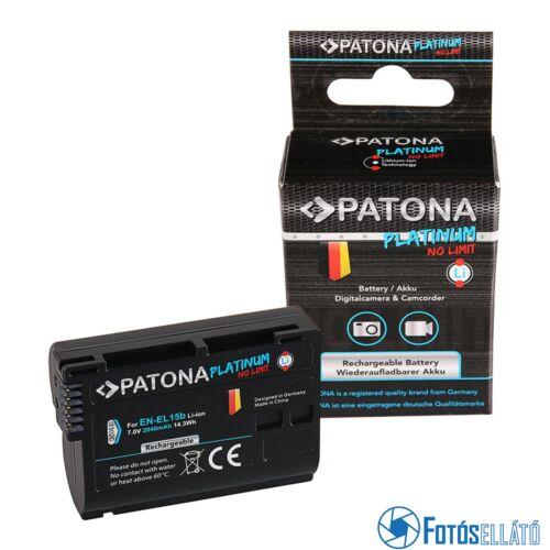 Patona PLATINUM AKKUMULÁTOR NIKON EN-EL15B D7000 D7100 D600 D610 D800 D800E D810 D850 Z7 V1