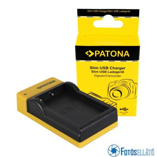 Patona SLIM MICRO-USB AKKUMULÁTOR TÖLTŐ NIKON EN-EL9 D40 D40X D5000 D60