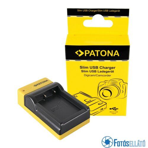 Patona SLIM MICRO-USB AKKUMULÁTOR TÖLTŐ FUJIFILM FUJI NP-W126 FINEPIX HS30 EXR HS30EXR HS-30EXR HS33