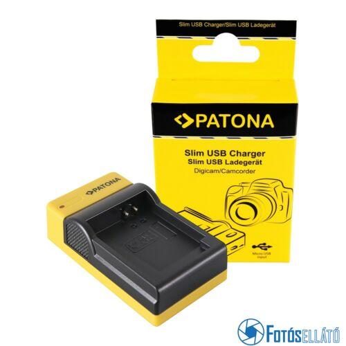 Patona SLIM MICRO-USB AKKUMULÁTOR TÖLTŐ CANON NB-13L POWERSHOT G5 X G5X G7 X G7 X MARK II G7X G9 X G9X