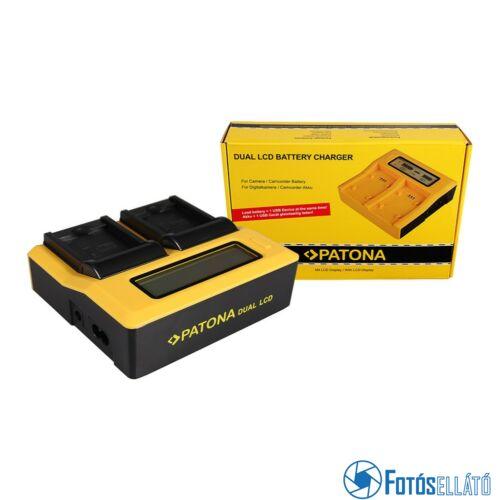 Patona DUPLA LCD USB AKKUMULÁTOR TÖLTŐ SAMSUNG BP88B MV900 MV900F