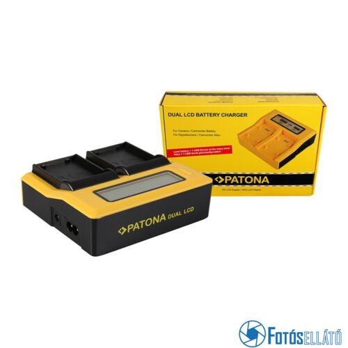 Patona DUPLA LCD USB AKKUMULÁTOR TÖLTŐ SAMSUNG BP1900 BP-1900 EDBP1900 ED-BP-1900