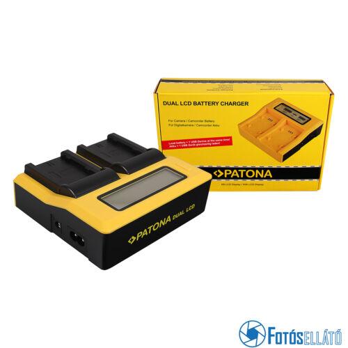 Patona DUPLA LCD USB AKKUMULÁTOR TÖLTŐ FUJI NP-W235 FUJIFILM XT-4 XT4 XT-4