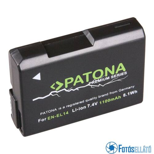 Patona PRÉMIUM AKKUMULÁTOR NIKON EN-EL14 COOLPIX P7800 P7700 P7000 D5300