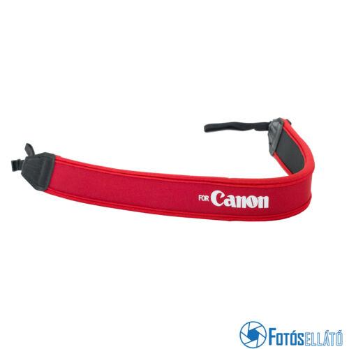 Neoprén nyakpánt Canonhoz (piros)