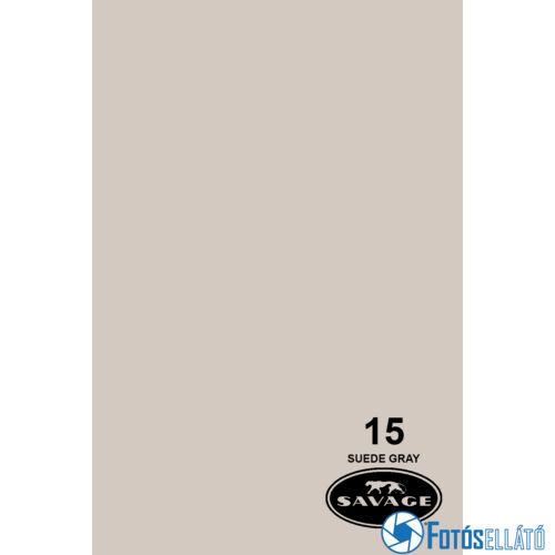 Savage Papírháttér 1.35m x 11m (15 suede gray)