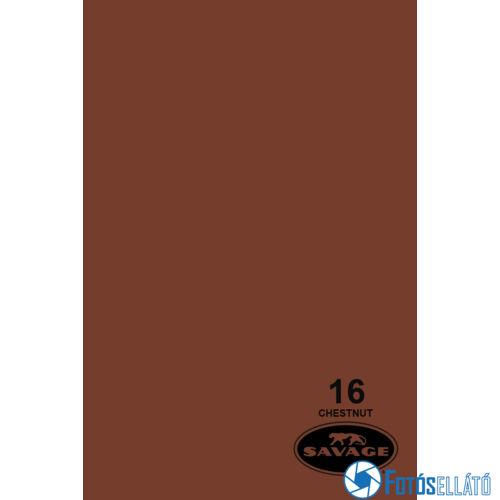 Savage Papírháttér 1.35m x 11m (16 chestnut )
