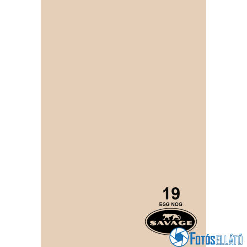 Savage Papírháttér 2.72m x 11m (19 egg nog)