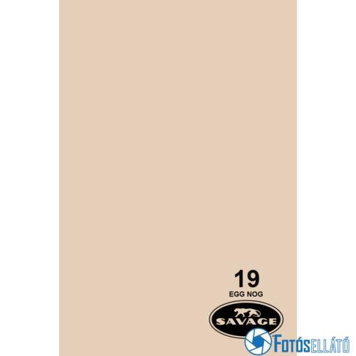 Savage Papírháttér 1.35m x 11m (19 egg nog)
